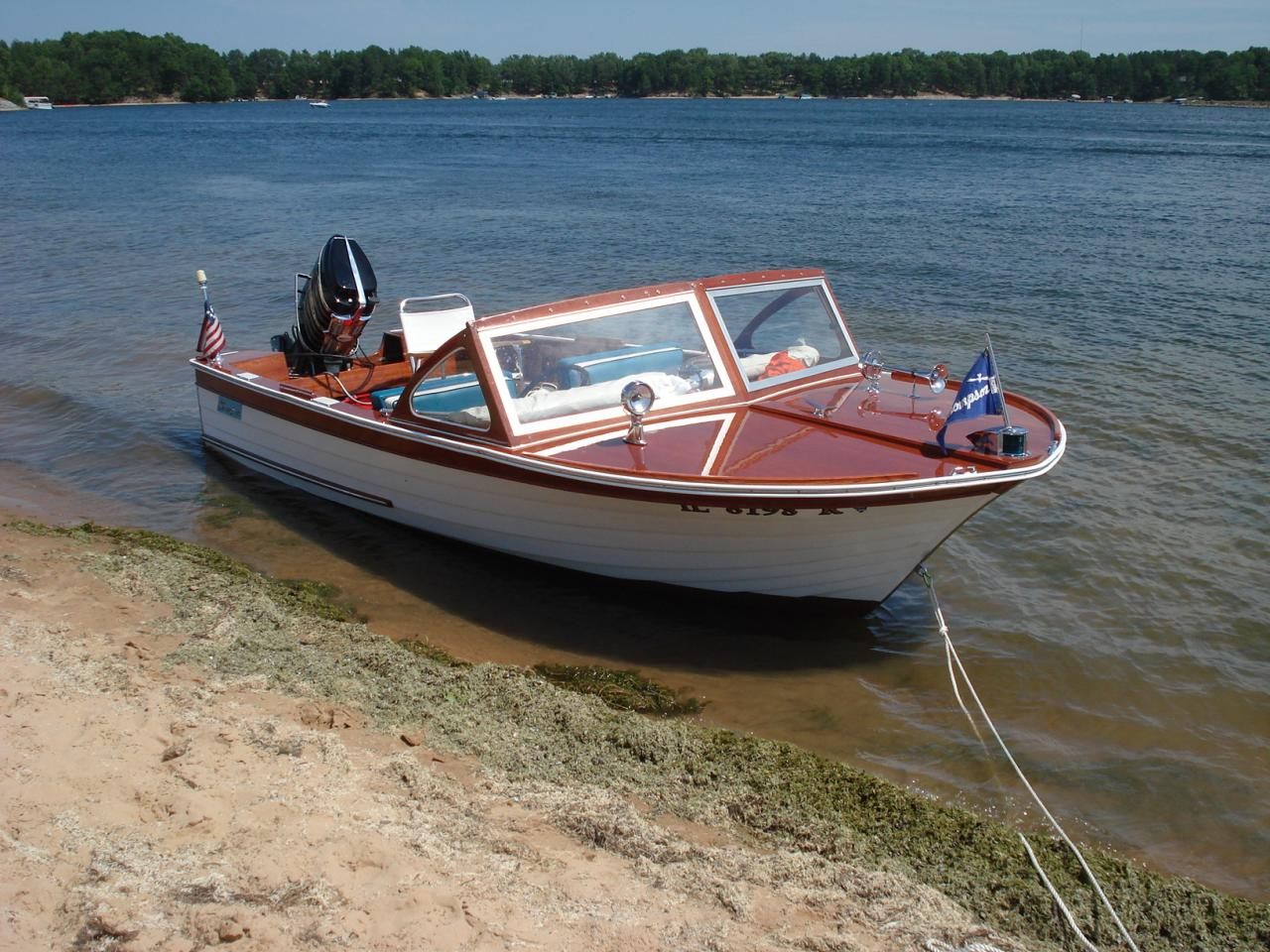 Classic Mercury Outboards - Customers Boats