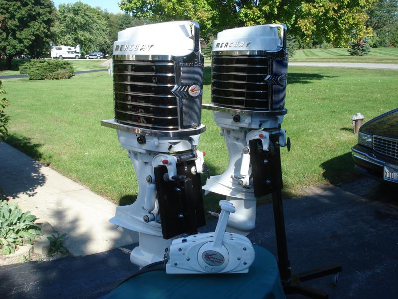 1961 twin Mercry 80hp Direct reversing